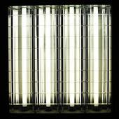 Gün ışığı ve lamba — Stok fotoğraf