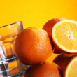 Fresh orange drink — Stock Photo
