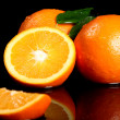 Close up of fresh orange fruit — Stock Photo #8801831