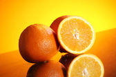 Fresh orange fruit — Stock Photo