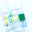 Stock Photo: Science research in laboratory