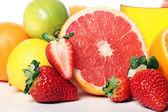 关门的新鲜水果 — 图库照片