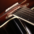 Classic acoustic guitar — Stock Photo #9479823