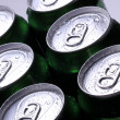 Cans with cold drink — Stock Photo