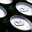 Cans with cold drink — Stock Photo #9481122