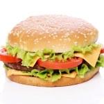 Big and tasty burger — Stock Photo