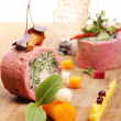 Delicious gourmet food - Foto Stock