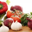 Pile of fresh vegetables - Foto Stock