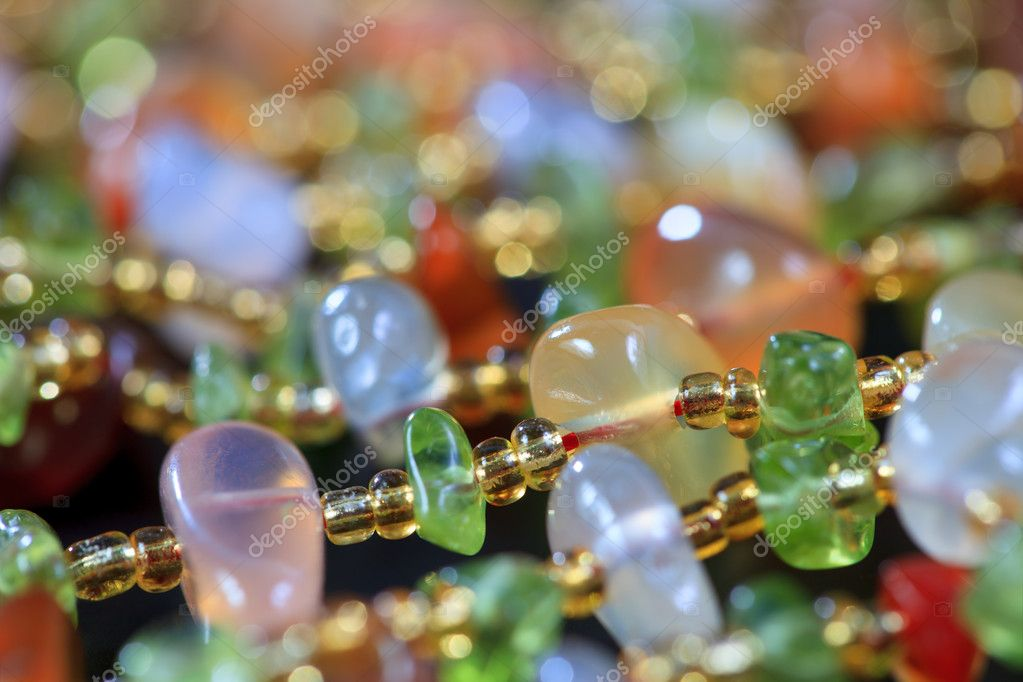 The background of colored stones in jewelry  Stock Photo #10230532
