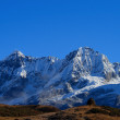 The high snow-capped mountains — Stock Photo