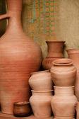 Crockery made of clay — Stock fotografie