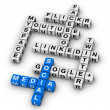 Stock Photo: Most Popular Social Networking Sites