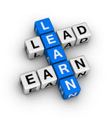 Learn to Lead and Earn — Stock Photo