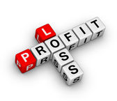 Loss and profit — Stock Photo