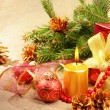 Christmas decorations — Stock Photo #10222812