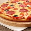 Pepperoni pizza — Stock Photo #8933908