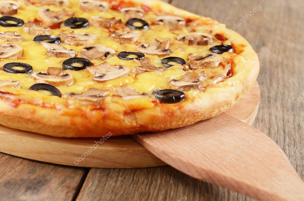 素披萨的做法大全图解