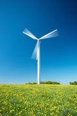 Turbina de vento — Foto Stock