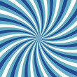 Blue vortex without outline — Stock Photo