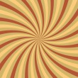 Yellow vortex without outline - Stock Photo