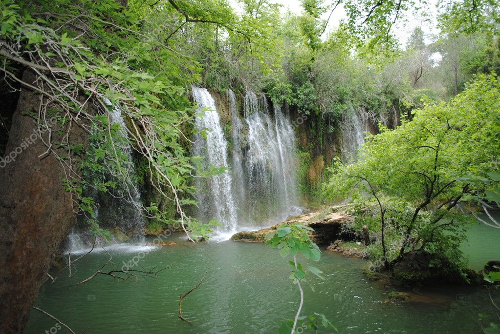 Waterfall in Antalya — Stock Photo #9466025