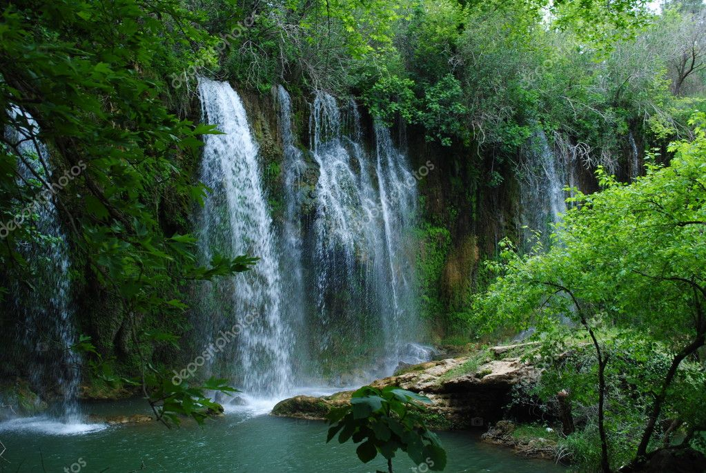 Waterfall in Antalya — Stock Photo #9466038