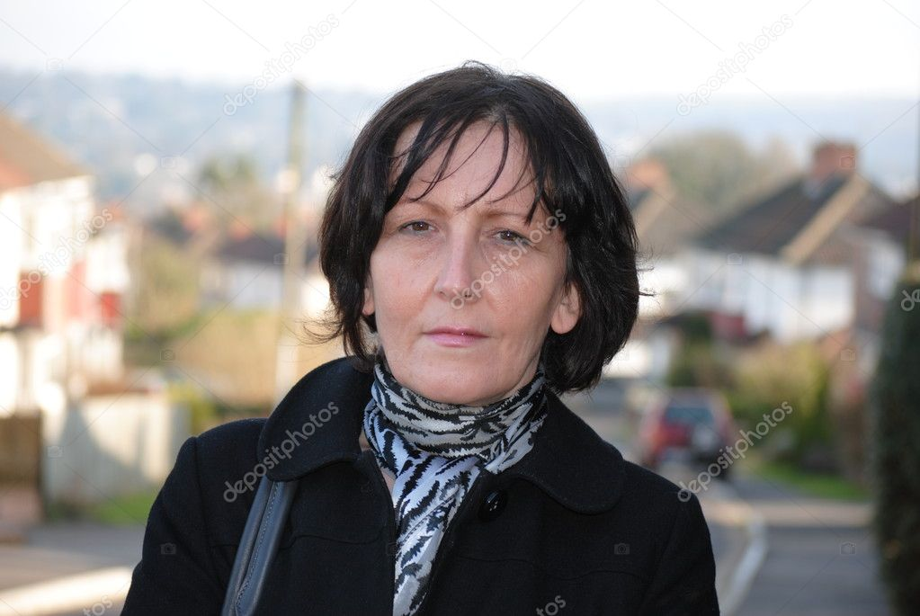 Mature woman — Stock Photo #9624620
