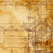 Royalty-Free Stock Photo: Vintage architectural drawing