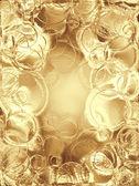 Gold metallic background — Stock Photo