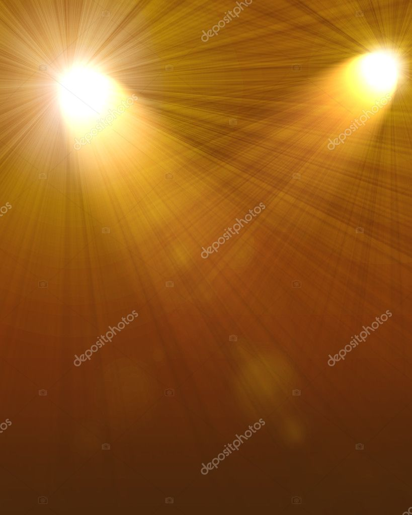 Two spotlights abstract Lighting Equipment — Stock Photo #8077239