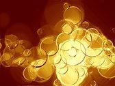 Gold circles. — Stock Photo