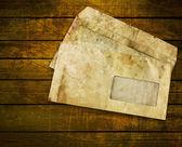 Old envelopes — Stock Photo