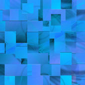 Blue background of the rectangles — Stock Photo