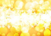 Golden background of the bright lights — Stock Photo