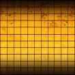 Banner of iridescent golden squares — Stock Photo #8682139