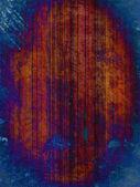 Rusty blue grunge background — Stock Photo