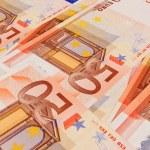 5, 10, 20, 50 Euro banknotes — Stock Photo