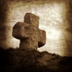 Old stone cross — Stock Photo #8709170