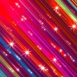 Glittering stars blurred colorful background — Stock Photo