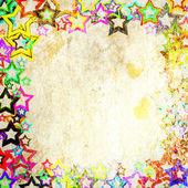 Stars frame — Stock Photo