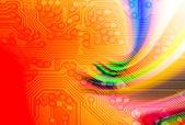Digitale wereld geïntegreerd — Stockfoto
