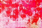 Srdce na zámečku pozadí — Stock fotografie