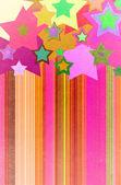 Sterne grunge auf dem papier — Stockfoto