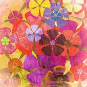 Vintage fond floral — Photo