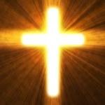 Glowing cross — Stock Photo #8719057