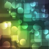 Transparent squares — Stock Photo