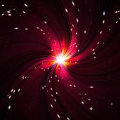 Bright red flash — Stock Photo