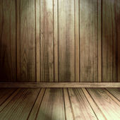 Old wooden interior — Stock Photo