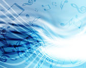 Background with music — Stock Photo