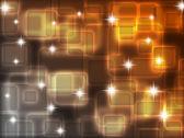 Fondo abstracto con cuadrados transparentes. — Foto de Stock